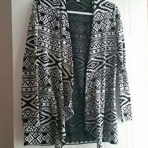 Black & White Cardigan